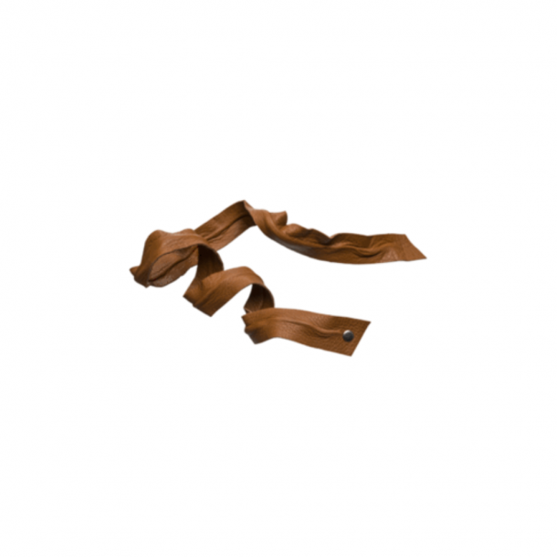Corinne Leather Band Long Bendable Cognac