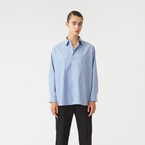 HOPE Elma Shirt Grey Stripe