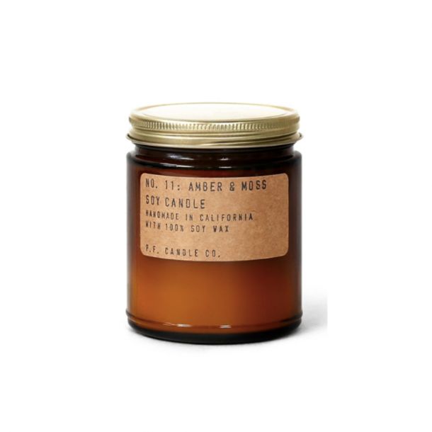 P. F. CANDLE CO. NO. 11 Amber & Moss Candle