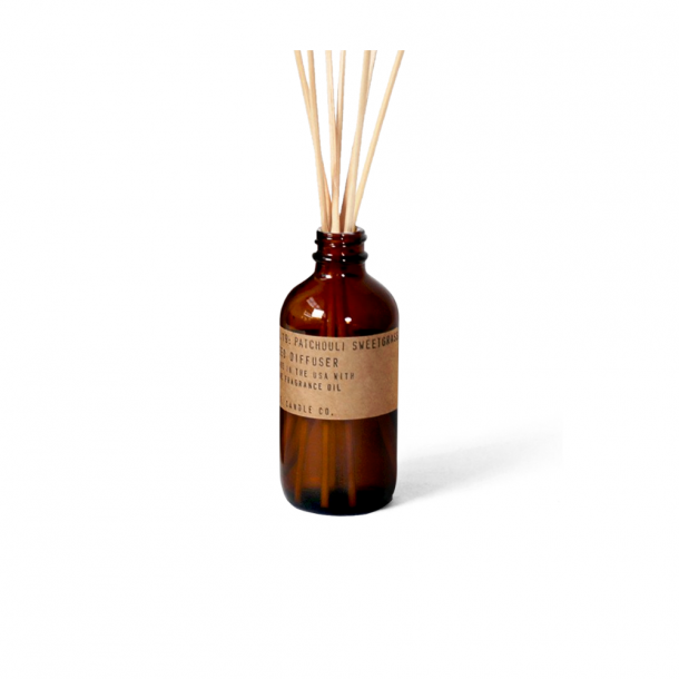 P.F. CANDLE CO.  No. 19 Patchouli Sweetgrass Diffuser