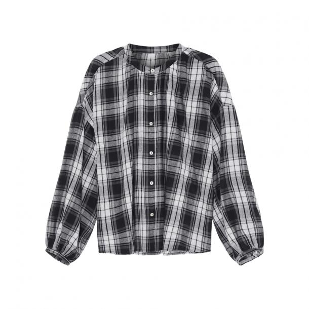 Skall Cilla Shirt Black/Lightcream