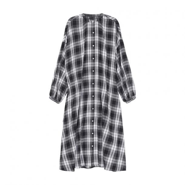 Skall Cilla Shirtdress Black/Light Cream