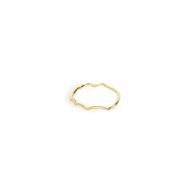 Trine Tuxen Bea Ring Goldplated