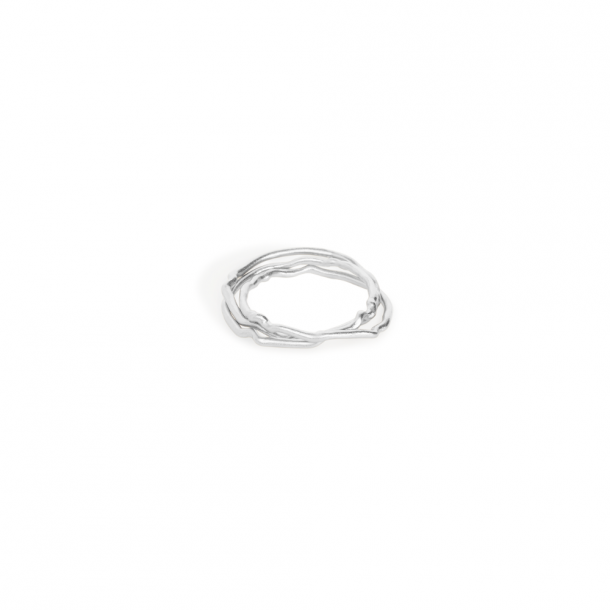 Trine Tuxen Betty Ring Silver