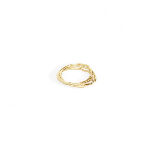 Trine Tuxen Betty Ring Goldplated