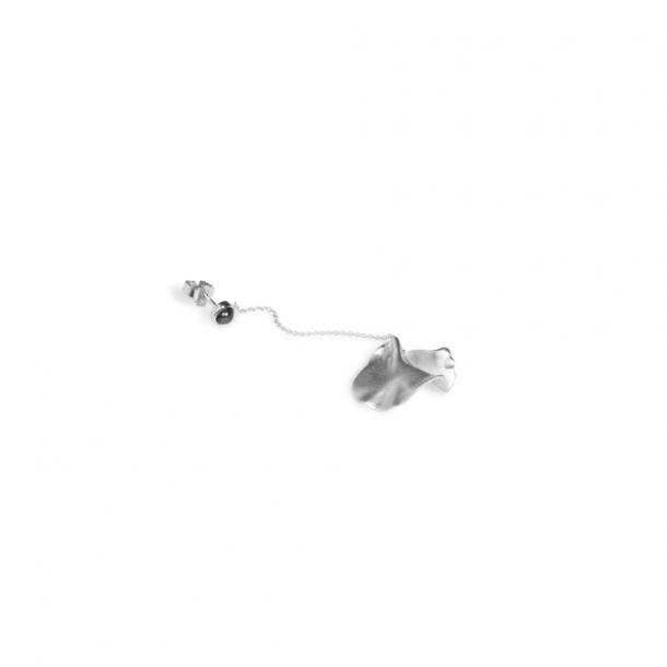 Trine Tuxen Penny Earring Hematite Silver
